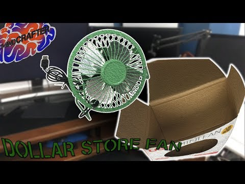 AWESOME Dollar Store Fan | FUnboxing!