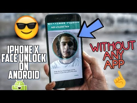 How to UNLOCK your Phone with FACE like iPhone X 😱 iPhone FACE ID ON ANDROID!