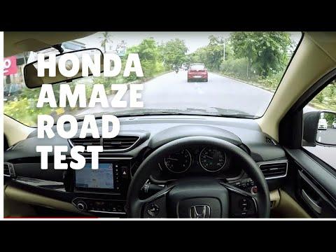 New Honda AMAZE 2018 ROAD TEST