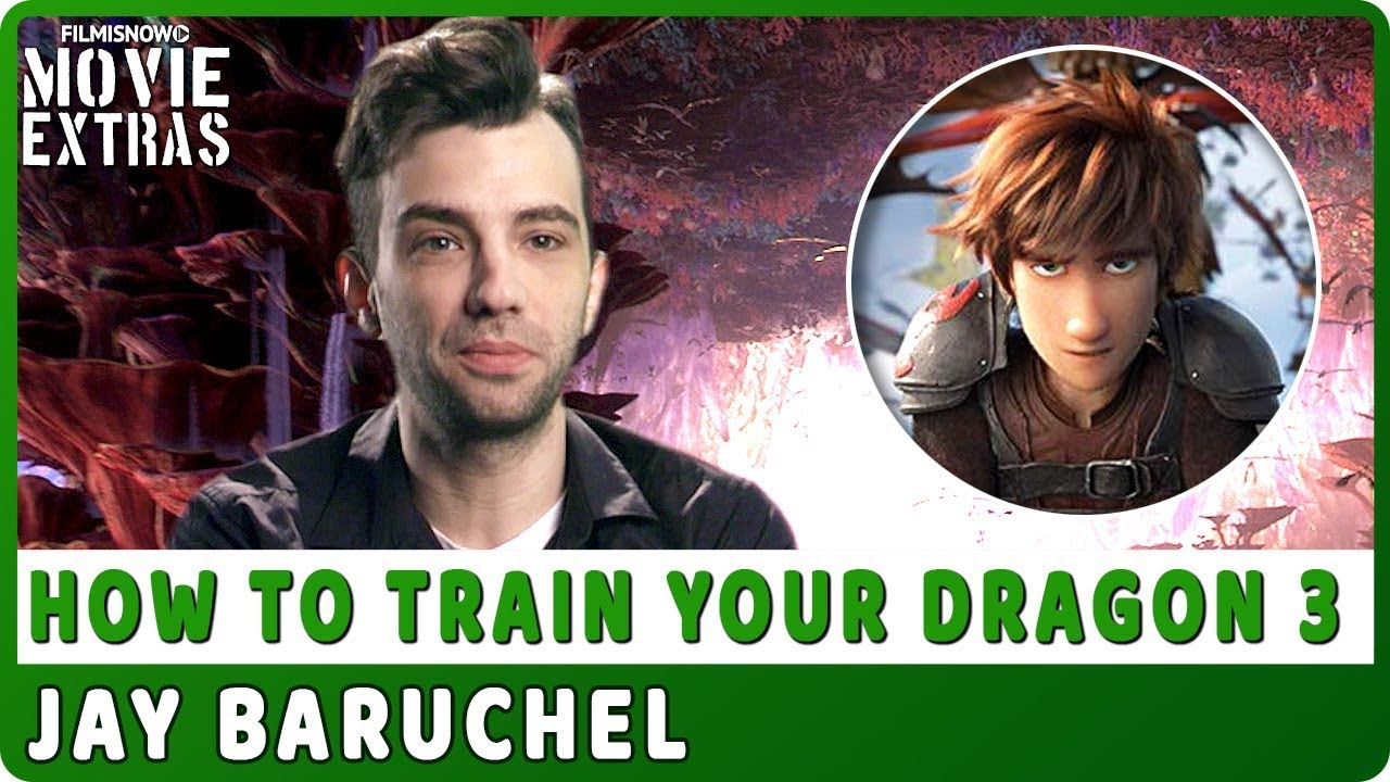 HOW TO TRAIN YOUR DRAGON: THE HIDDEN WORLD | On-Studio Interview with Jay Baruchel