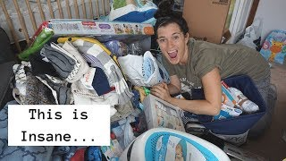 HUGE Baby Shower Haul || First Baby