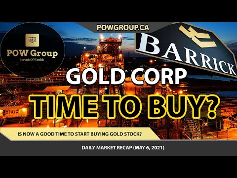 Barrick Gold Corp: Time to Buy GOLD Stock? | Warren Buffett Top Pick | Stock Market Review MAY 6TH