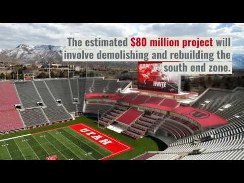 University of Utah releases new graphic renderings of Rice-Eccles Stadium expansion