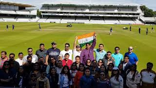 National Anthem at Lord's Stadium by TOSHIBAgrp.Proud to be Indian