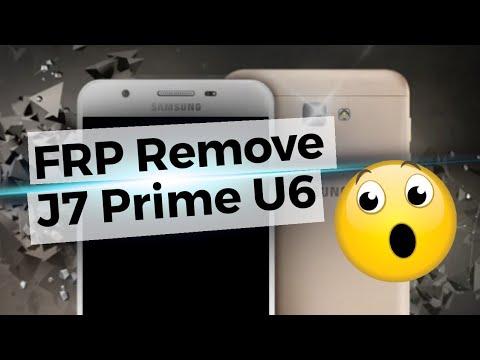Quitar Cuenta Google J7 Prime Binario 6 - FRP Bypass G610M U6 Last Security