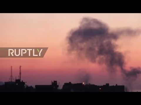 Libya: Egyptian airstrikes target 'terror camps' in Derna after attack on Coptic Christians