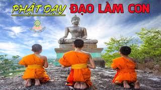 Những Lời Phật Dạy Đạo Làm Con rất hay - Bạn Rất Có Duyên Với Phật Khi Nghe Được Video Này