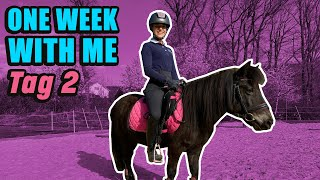 ONE WEEK WITH ME 🤩 - Tag 2 | Unser Shetty springt ❤️