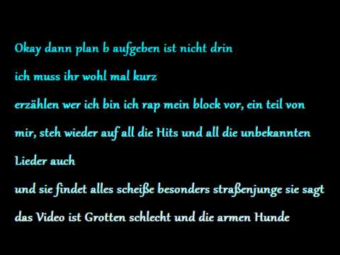 Sido - Nein Songtext