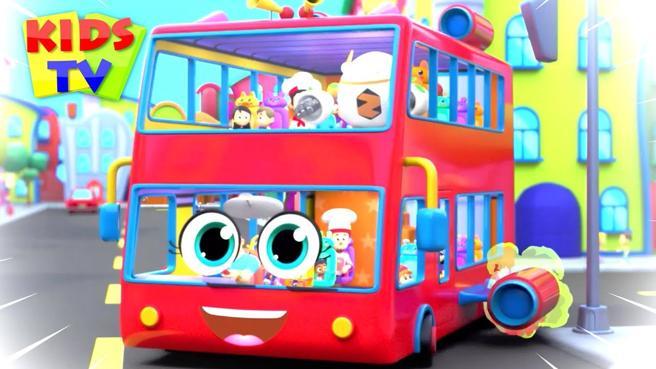 Wheels On The Bus Non-Stop Collection | Nursery Rhymes & Kids Songs | Cartoon for Babies