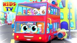 wheels On The Bus Non-Stop | kids tv Nursery Rhymes & Kids Songs | baby songs