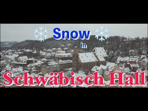 Snowy Sunday In Schwäbisch Hall, Germany