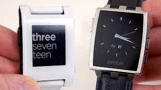 Pebble Steel vs Pebble - Full Comparison