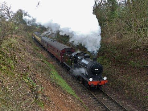 Mid-Hants Railway 'SPRING STEAM GALA' - 2016