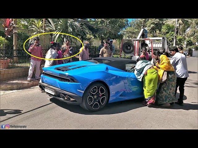 Lamborghini Huracan Spyder Supercar Worth Rs 3 89 Crore Home