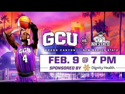 GCU Men's Basketball vs. New Mexico State Feb 9, 2019
