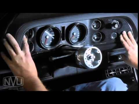 NVU 70-78 CAMARO GAUGE KIT INSTALLATION - YouTube