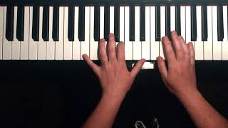 Skinny Love - Birdy, solo piano cover YouTube Thumbnail