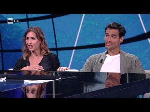 Fabio Fognini e Flavia Pennetta - Che tempo che fa 20/05/2018