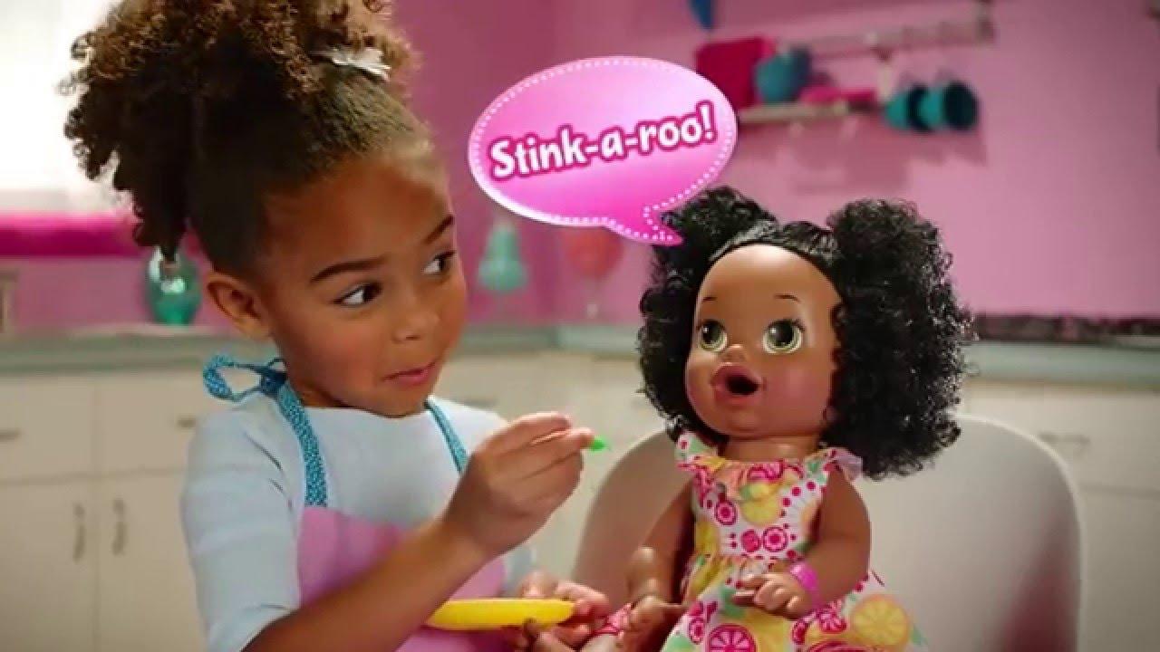 ff26fcf83 Baby Alive - Super Snacks - Snackin  Sara - African American ...