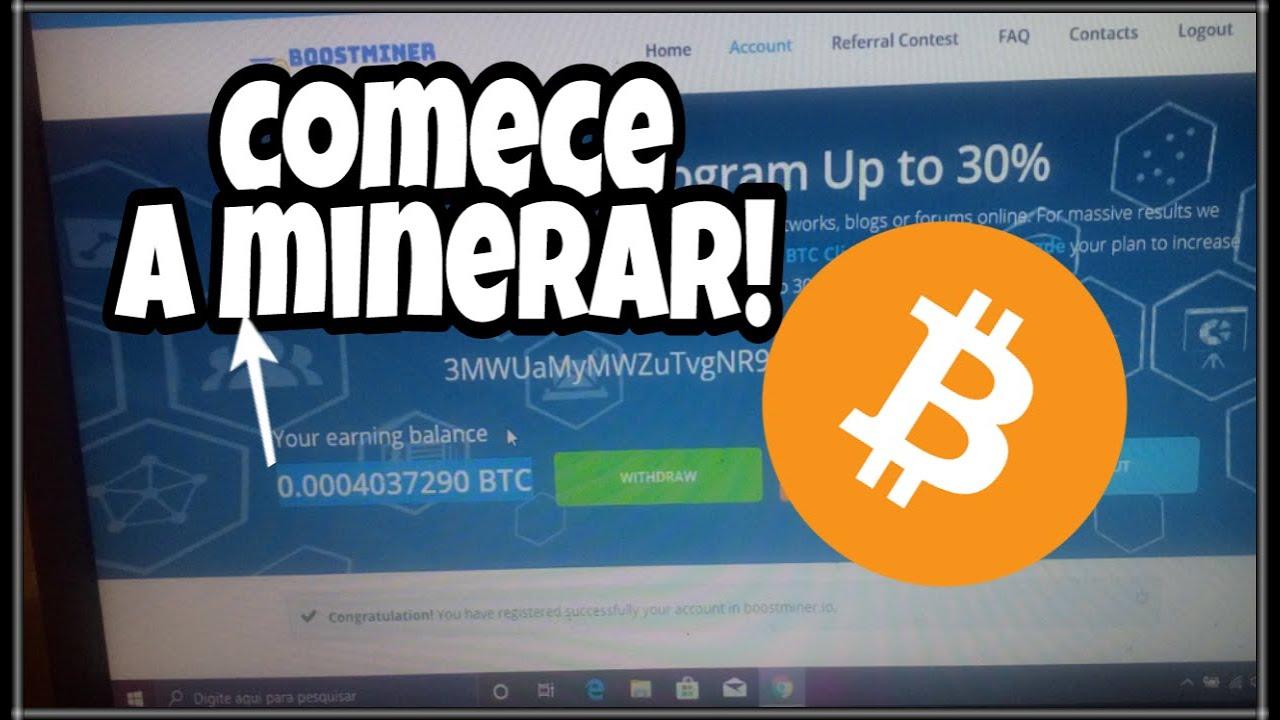 Comece a  minerar bitcoin de grátis com Instalando Esse Aplicativo ! Assista até o final!