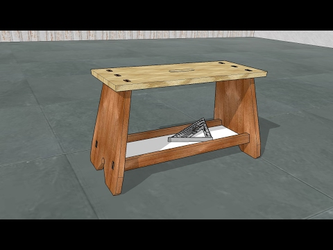 Design, Model and Build a Professional Carpenter's Footstool