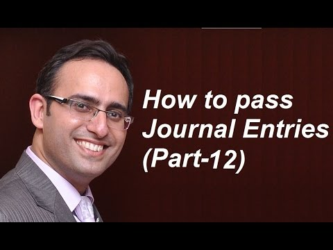 How to make Journal Entries (Video-12) [Journal Entries related to Trade & Cash Discount (Part-1) ]