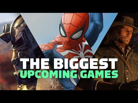 Fall 2018's Biggest Upcoming Games
