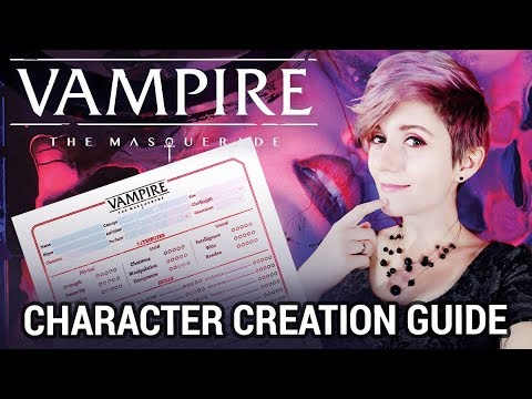 MAKE YOUR OWN VAMPIRE! Vampire: The Masquerade v5 Character Creation Guide
