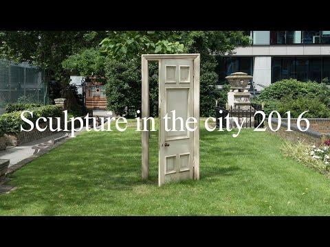 Gavin Turk - Ajar - Sculpture in the City 2016 - London - July 2016