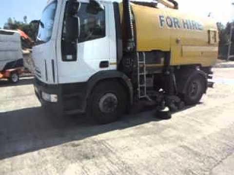 2010 Iveco Euro Cargo Johnston Road Sweeper