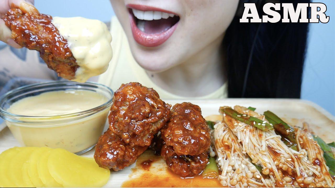 Asmr Korean Fried Chicken Spicy Enoki Mushroom Cheese Sauce Eating Sounds No Talking Sas Asmr Youtube Смотреть видео про sas asmr. asmr korean fried chicken spicy enoki mushroom cheese sauce eating sounds no talking sas asmr