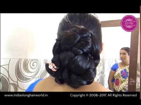 Everyday Braided Hair Bun | Easy & Quick Braided Hair Bun for Long & Medium Long Hair | Braided Bun