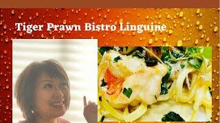 Tiger Prawns Bistro Linguine