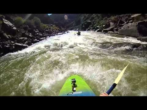 Connor's First Class IV Rapids! - Arkansas River - Royal Gorge Section