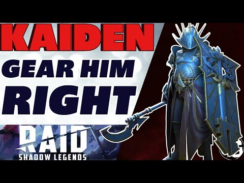 Playing him wrong? KAIDEN *NEW* amazing epic Raid Shadow Legends