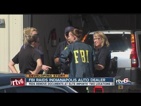 FBI raids Indianapolis auto dealer