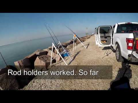 The Best Surf, Jetty And Bank Fishing Rod Holder UPDATE They Worked