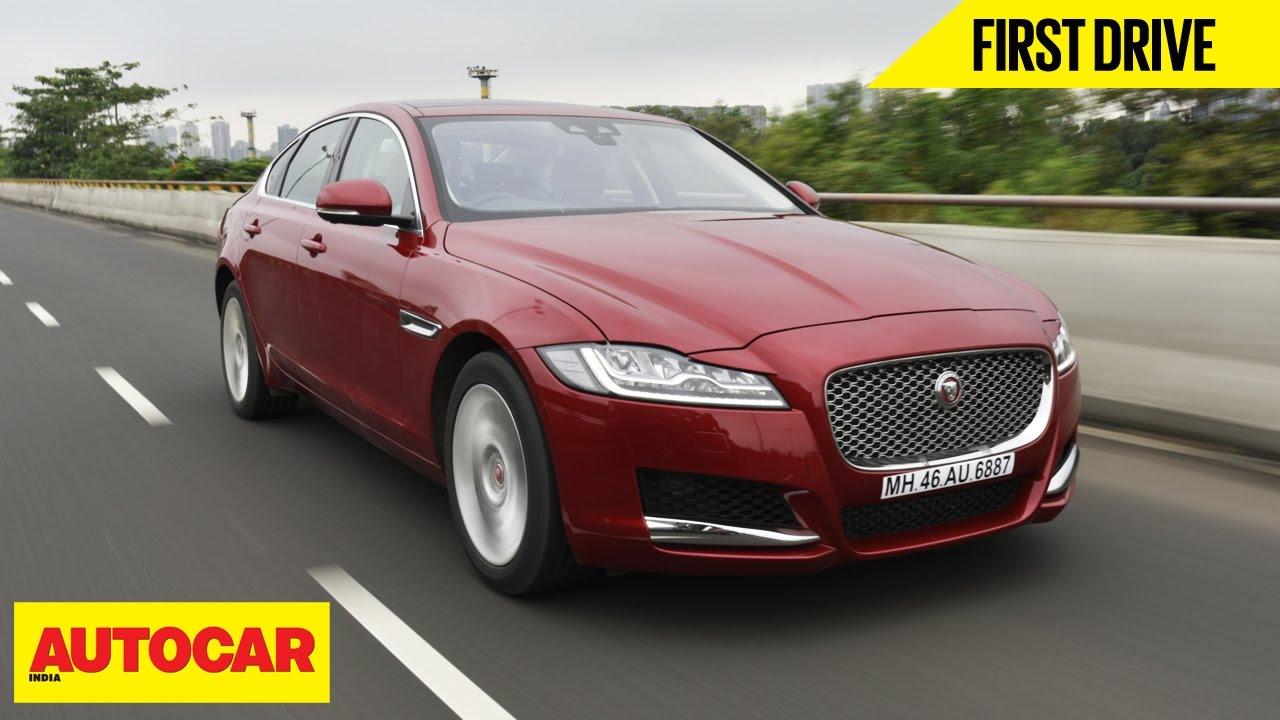 Jaguar Xf First Drive Autocar India Youtube