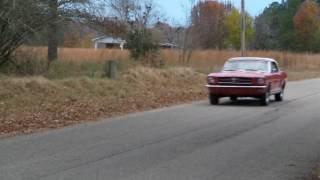 1964 1/2 Mustang Convertible Red Beauty Video 1