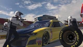 The NASCAR Chevrolet Camaro ZL1