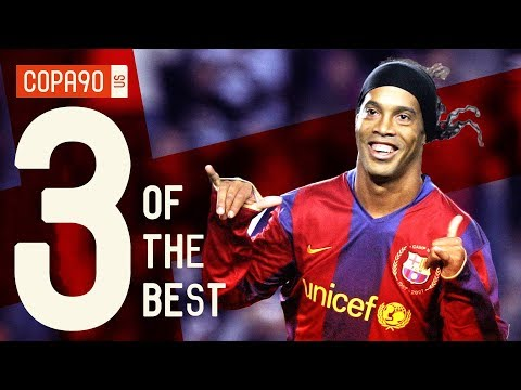 Without Ronaldinho, There Would Be No Messi | Barcelona 3 Of The Best
