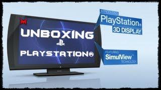 PlayStation® 3D Display Unboxing PT-BR (HD)(Bom achei que vinha com o controle porque em outra loja tinha uma foto na propaganda =D Mais acabei usando um controle que tenho aqui da minha TV Sony ..., 2012-03-20T10:52:15.000Z)