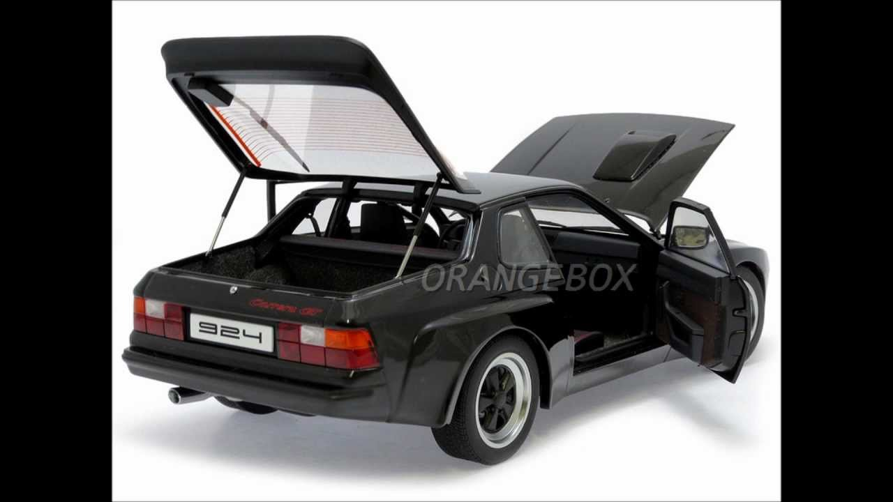 porsche 924 carrera gt 1980 118 78001 autoart youtube. Black Bedroom Furniture Sets. Home Design Ideas