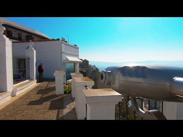 Increíbles Vistas desde el Mirador en Arcos de la frontera - 4K
