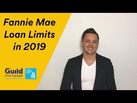 New Fannie Mae Loan Limits in WA State in 2019