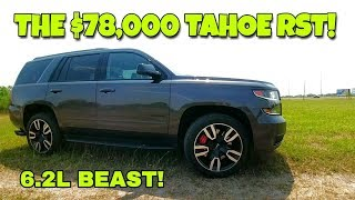 2018 Chevy Tahoe RST! 420hp BEAST! Full Review Part 1