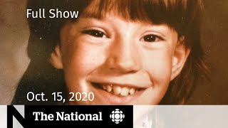 CBC News: The National | Killer identified in Christine Jessop's 1984 murder | Oct. 15, 2020