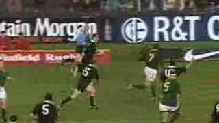 Carlos Spencer All Black Legend Dvd