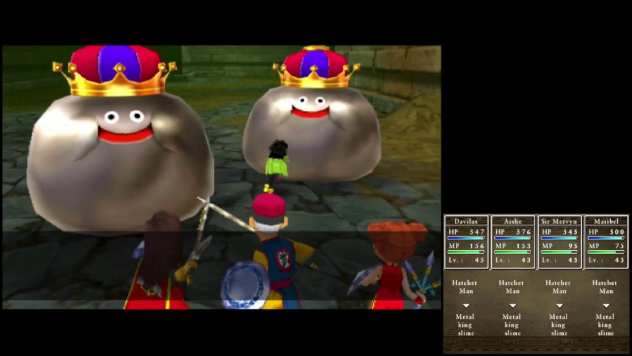 Dragon Quest Vii 3ds Playthrough 165 The Historic Soothing Cave Metal King Slime Tablet Youtube